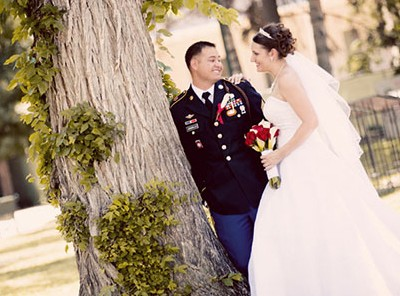 Military Members receive 10% Thank You discount on your Wedding Package from Natascha's Photography