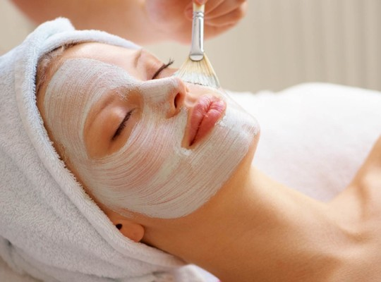 Facial by Kate and Company!